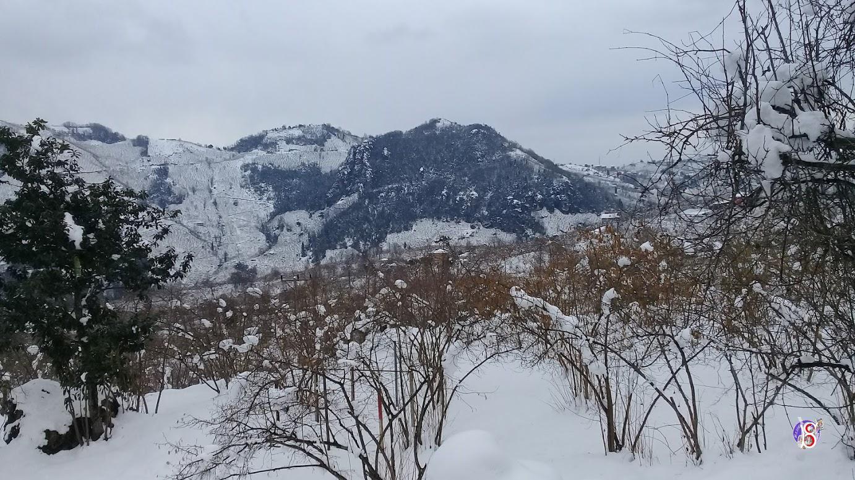 Kuşluhan'da Kar