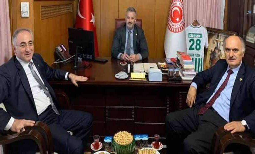 Görgülüoğlu Ankara'da bir dizi temaslarda bulundu.