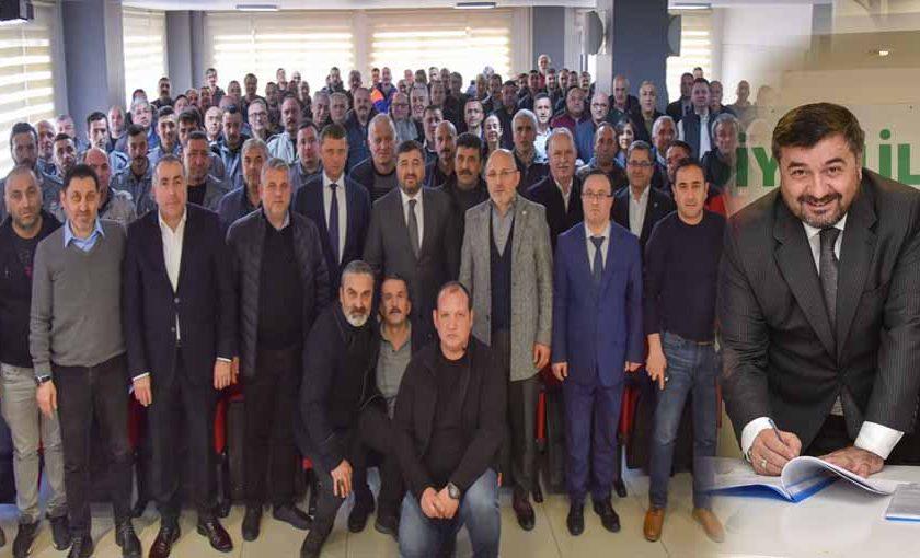 Belediye İş Sendikası arasında toplu iş sözleşmesi