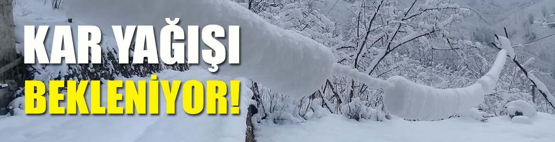 Yüksek Kesimlerde Kar Yağışı Bekleniyor!