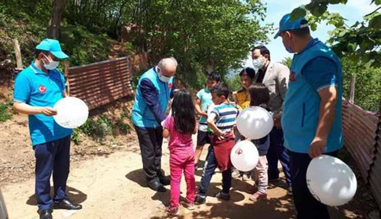 Giresun Müftülüğü Mülteci Çocuklara Yardım Başlattı