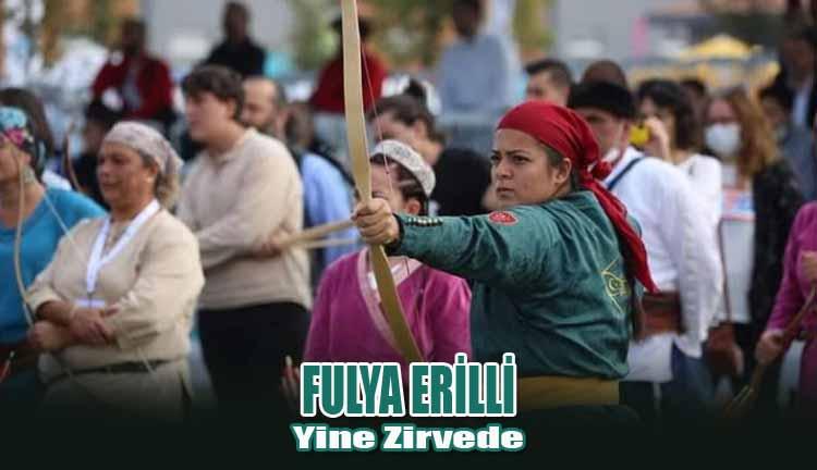 Fulya Erilli Yine Zirvede