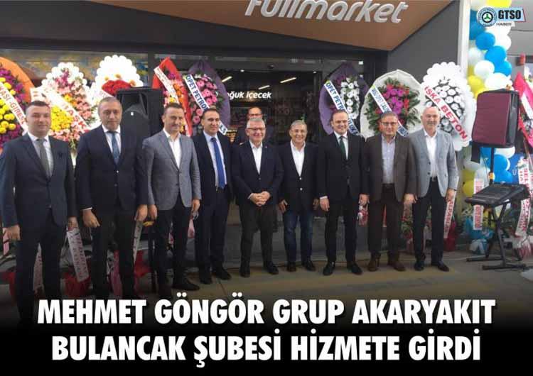 Mehmet Göngör Grup Akaryakıt Bulancak Şubesi Hizmete Girdi